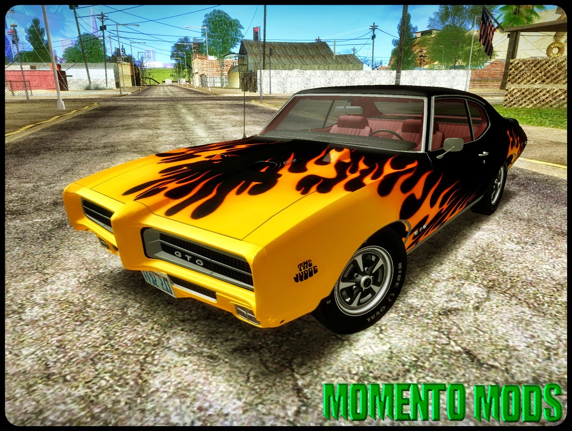 GTA SA - Pontiac GTO The Judge Hardtop Coupe 1969