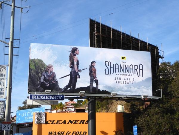 Shannara Chronicles season 1 billboard