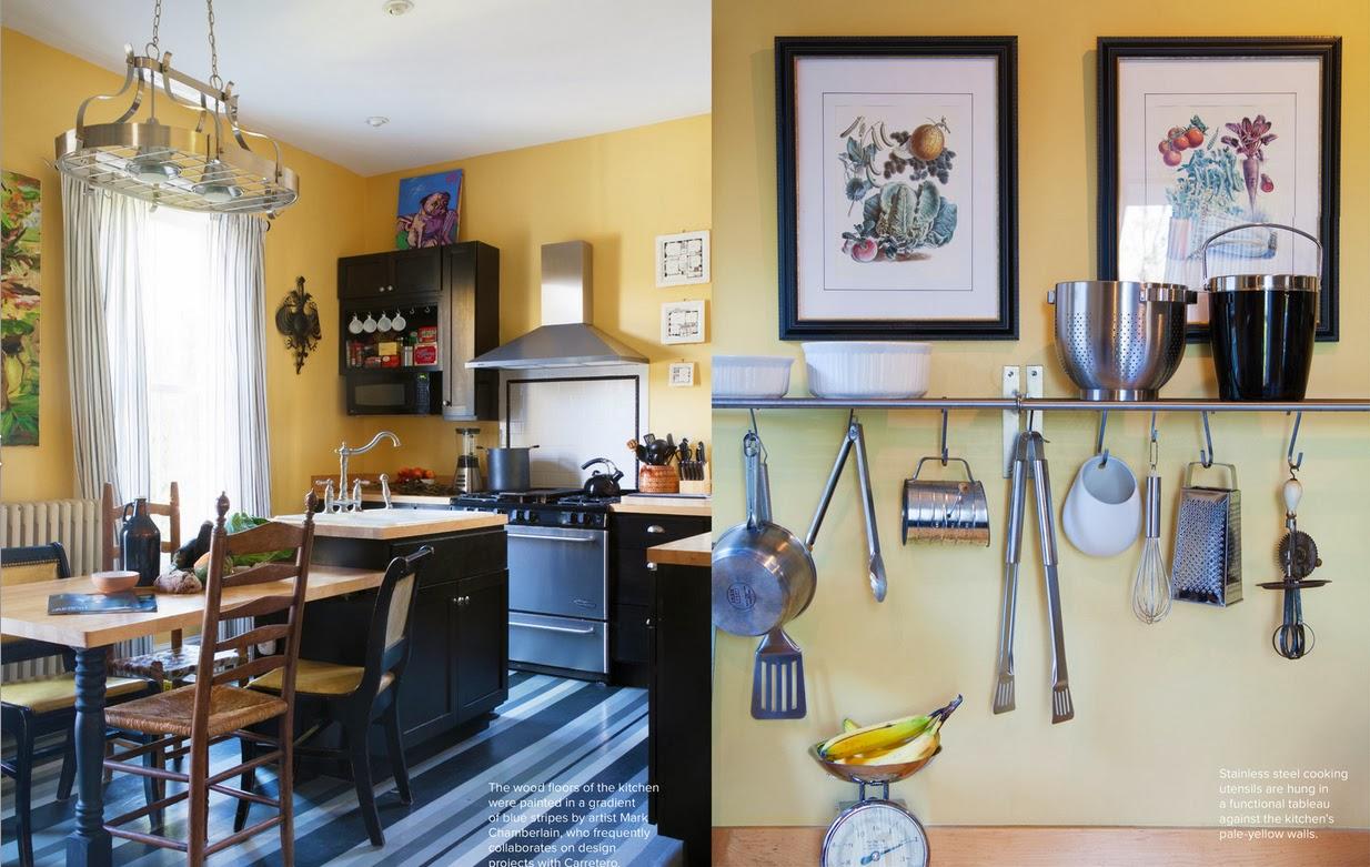 Küche in Gelb - strahlender Sonnenschein sorgt für gute Laune in der Küche!