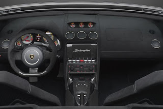 Lamborghini Gallardo Performante interior view
