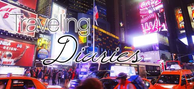 traveling diaries to the USA, visiting New York, Washington, Chicago and Boston.