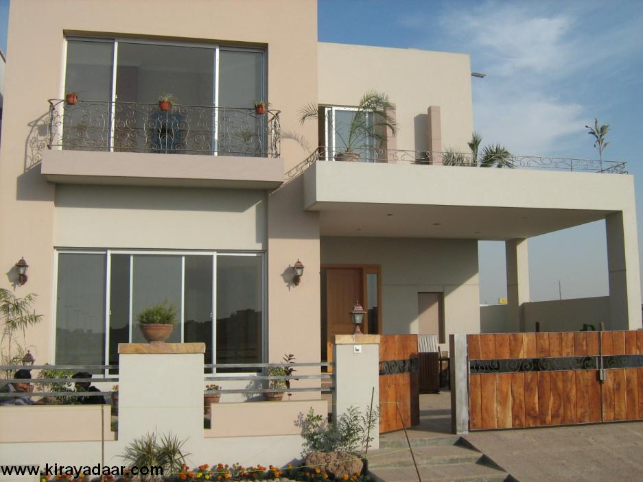 Modern Homes Front Views Designs.