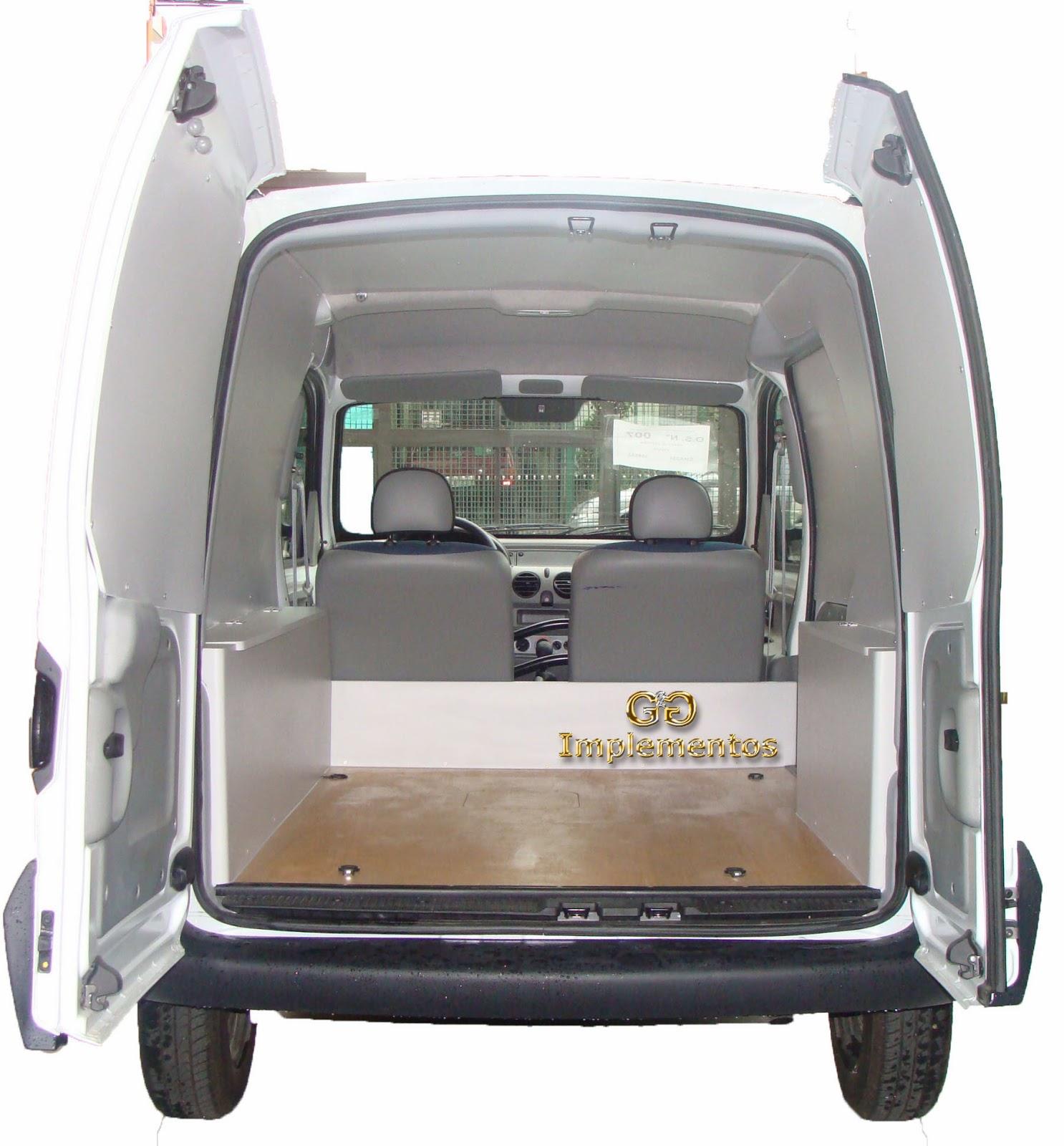 Revestimento de proteção em MDF para Renault Kangoo #7E674D 1486x1600