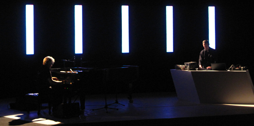 Alva Noto, Carsten Nicolai, Ryuichi Sakamoto, Sonar 2011, Barcelona,Teatre Grec
