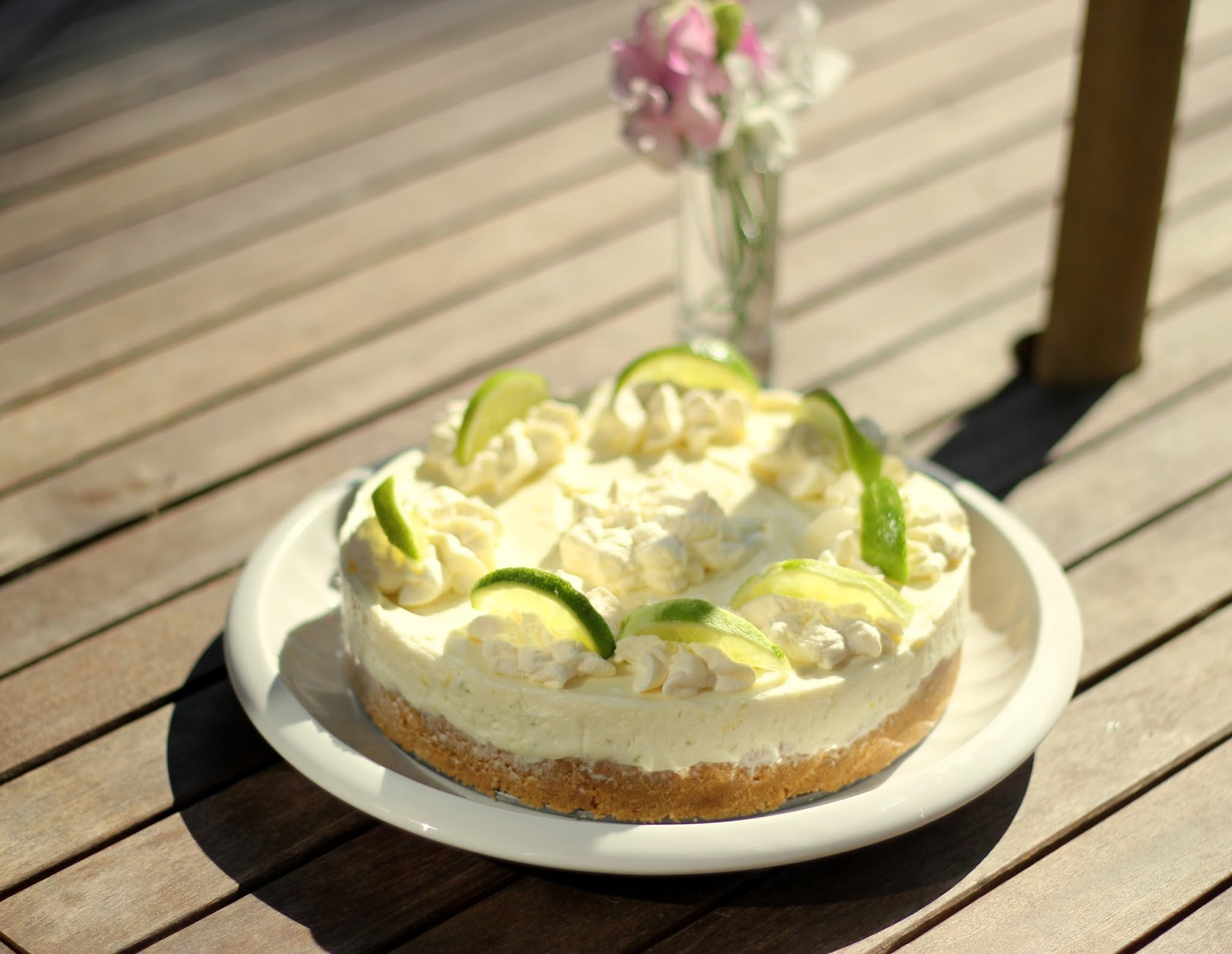 Cookies & Cosmetics : Lemon Lime Cheesecake (Mary Berry)
