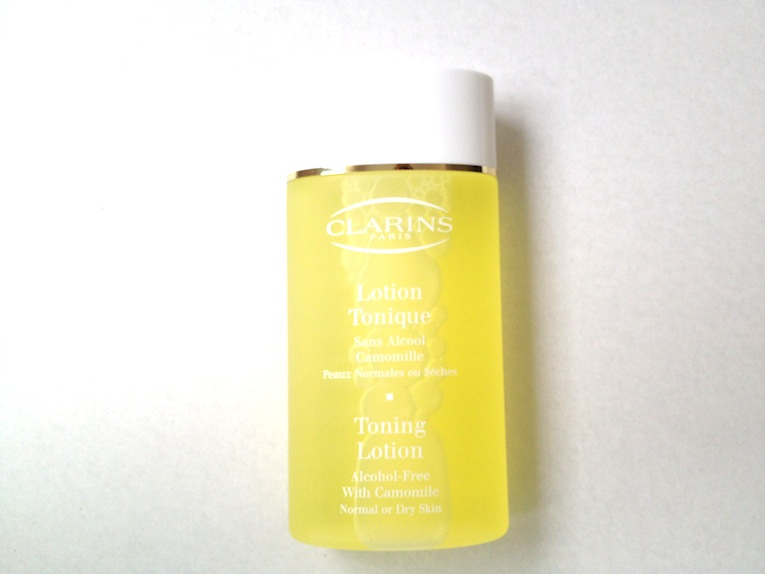 clarins toning lotion with camomile how to use