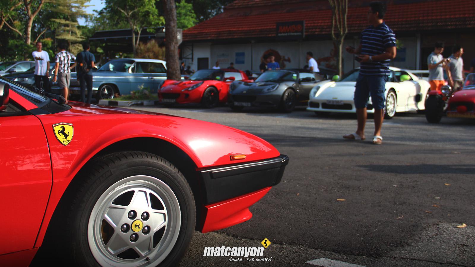 Mat Canyon: Cars And Kopi Singapore | Christmas Meet