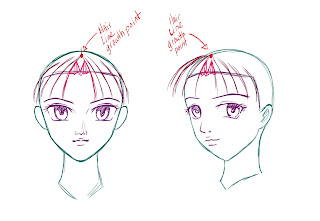 How To Draw Anime Hair Step 4