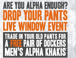 Free Alpha Khakis Dockers Pants