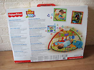 Fisher Price Baby Zoo Babygym: een super-de-luxe babygym van Fisher Price!