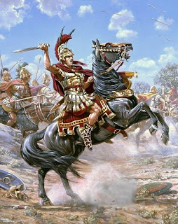 Alessandro Magno con il suo popolo albanese sottomise tanti regni(di Vittorio Catualdi 1889)