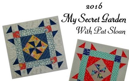 BOM My Secret Garden - Pat Sloan