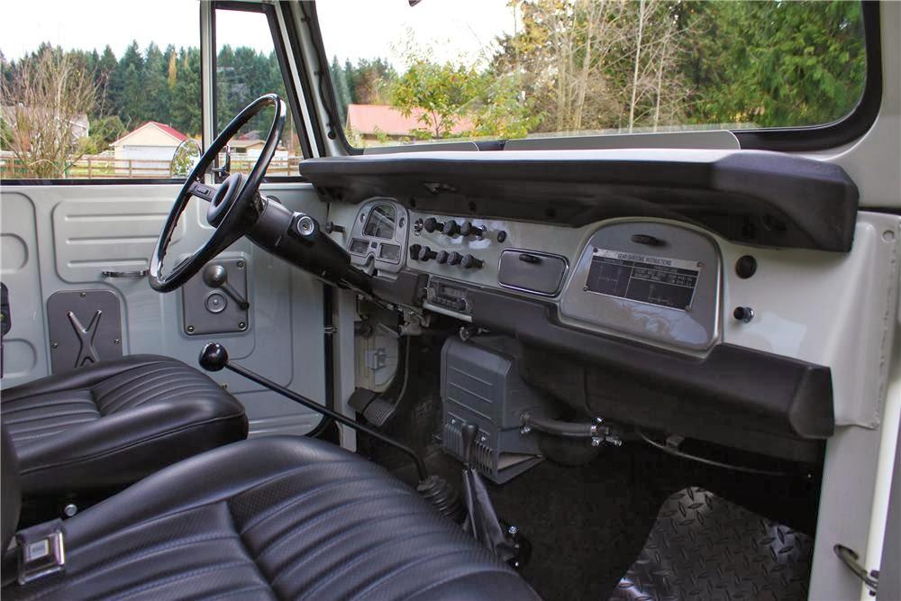 1973 Toyota Land Cruiser Fj40 Auto Restorationice
