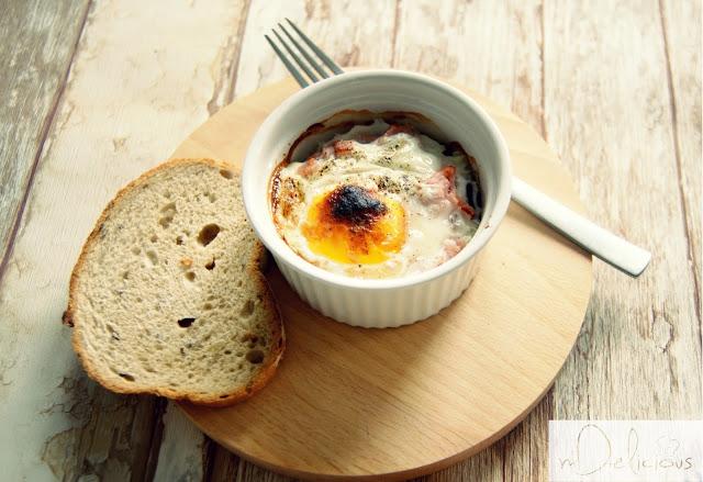 na śniadanie, jajko na śniadanie, kokilki, konkretne śniadanie, śniadanie na kaca,