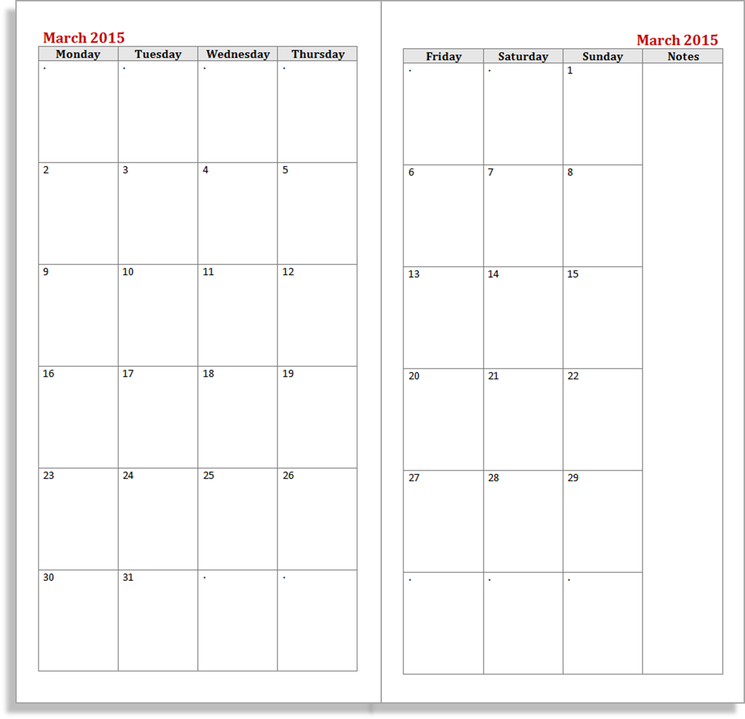 Calendar Notebook Template : My life all in one place the daily dashboard midori