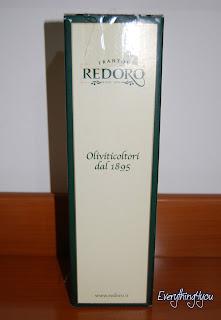 Confezione regalo dell'olio extravergine italiano Redoro