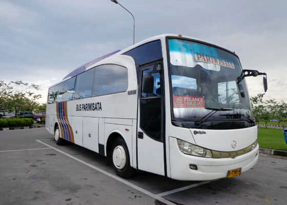 Bus wisata padang lebih asyik naik rame rame