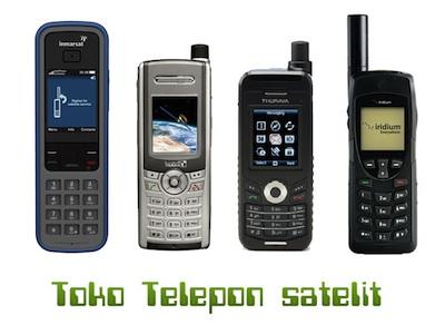 Jual Telepon Satelit - Inmarsat | Thuraya | Iridium