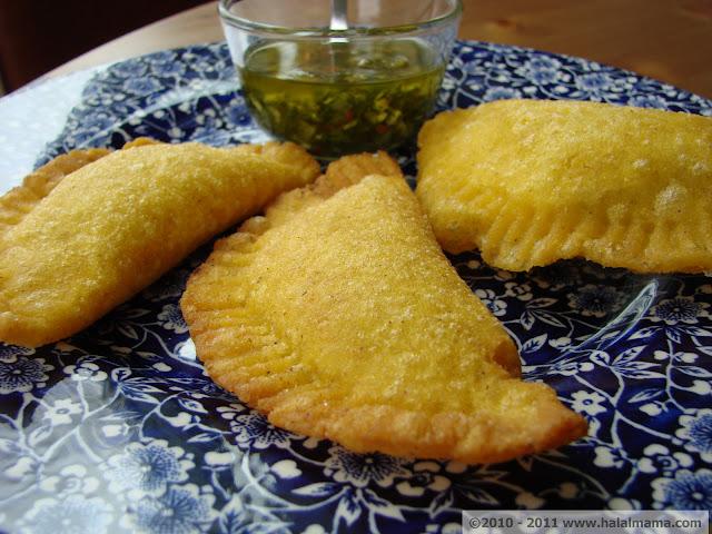 "Halal Mama: Colombian Empanadas and ""Aji"""