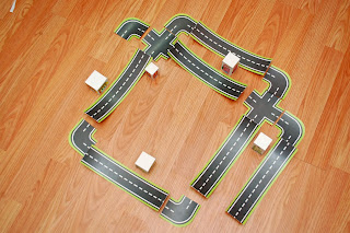 Arranged printable road maps