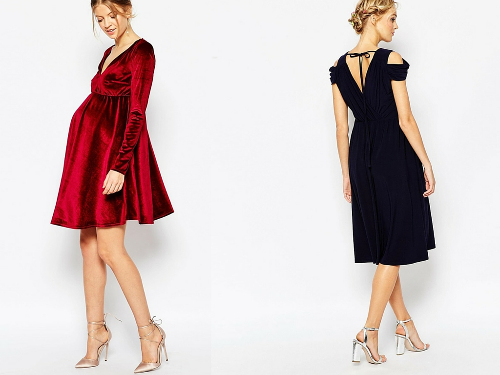 Glama mama the chicest maternity holiday dresses lakatwalk maternity classic stretch evening dresses ombrellifo Images