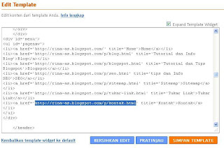 Cara Memasang Contact Form  di Blog | Halaman Kontak