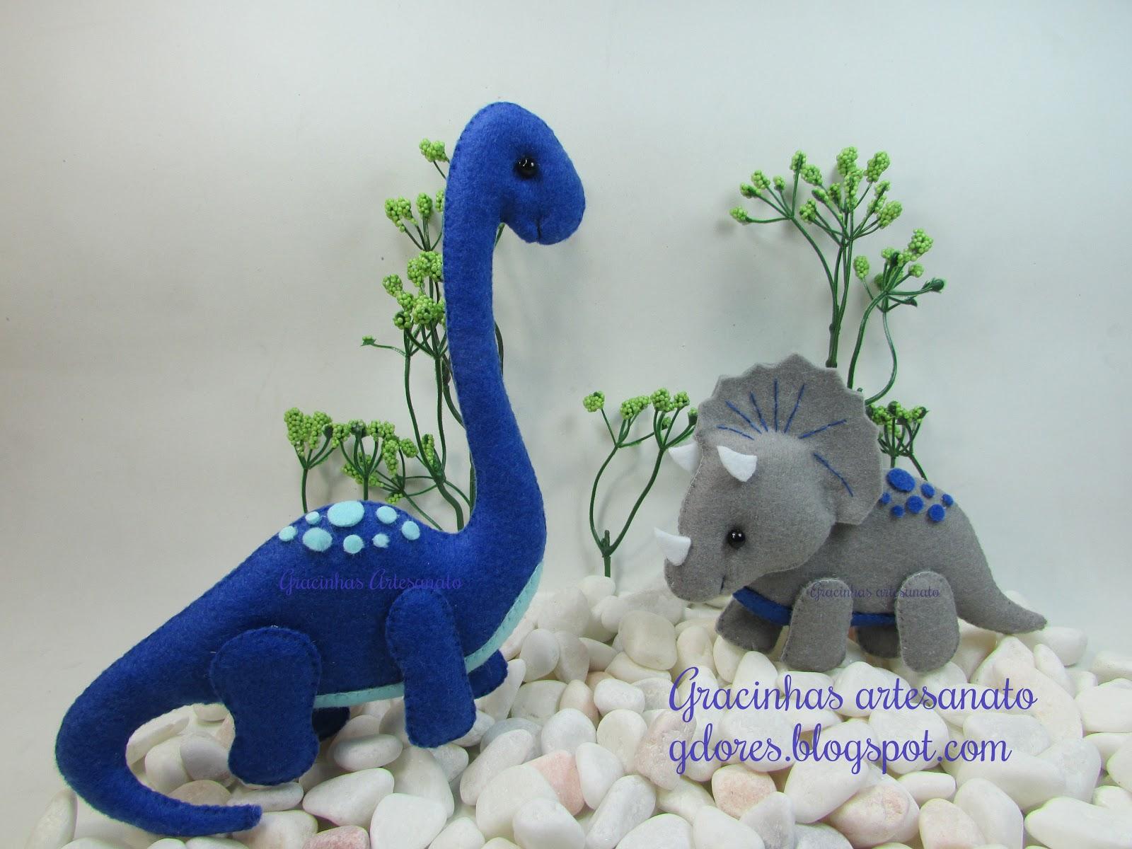Favoritos Dinossauros! | Gracinhas Artesanato JY43