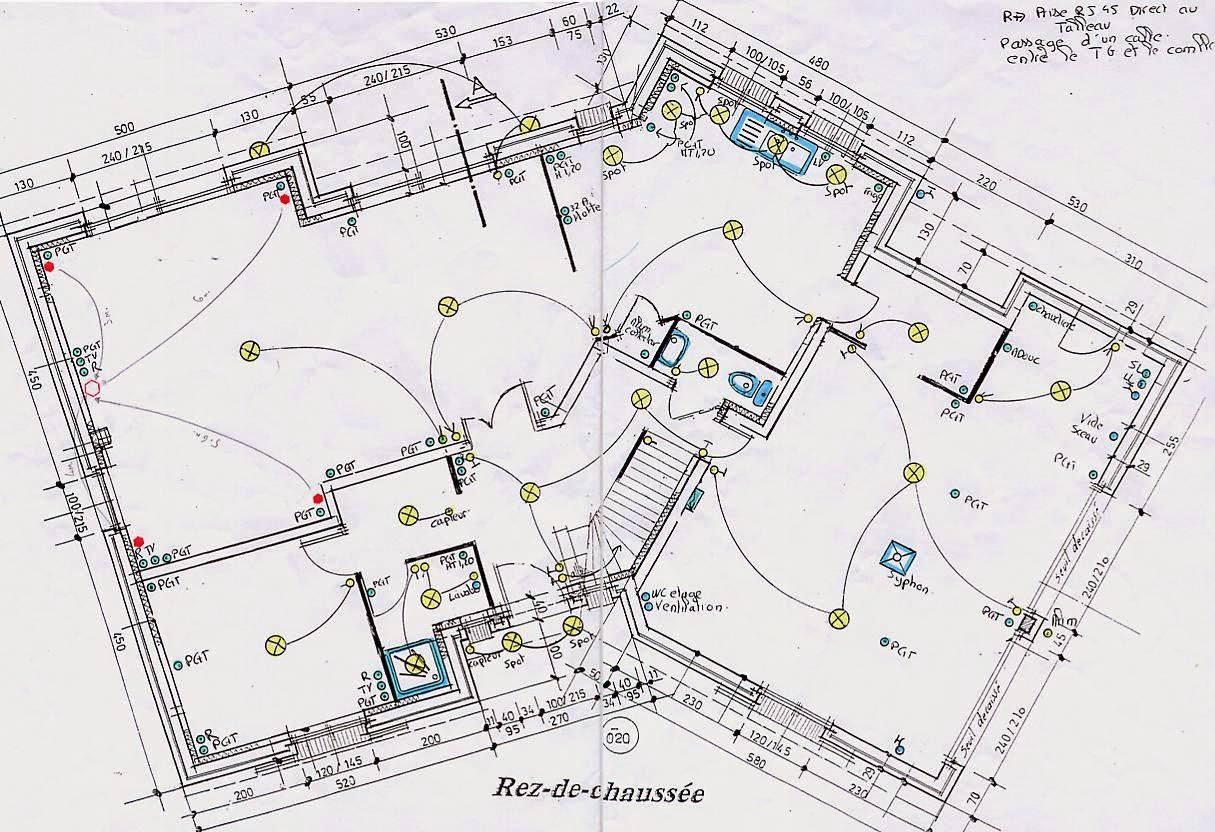 plan electrique maison individuelle - Plan Electrique Maison Individuelle