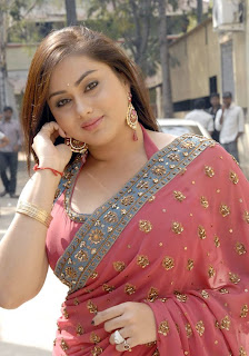 Namitha Spicy in Saree pictures Blogspot Com 0003