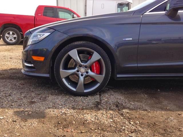 Ravenus Studios 2013 Mercedes Cls Brake Caliper Covers