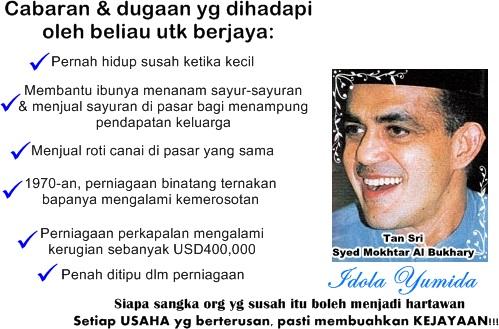 cabaran dan dugaan Tan Sri Syed Mokhtar Al Bukhary