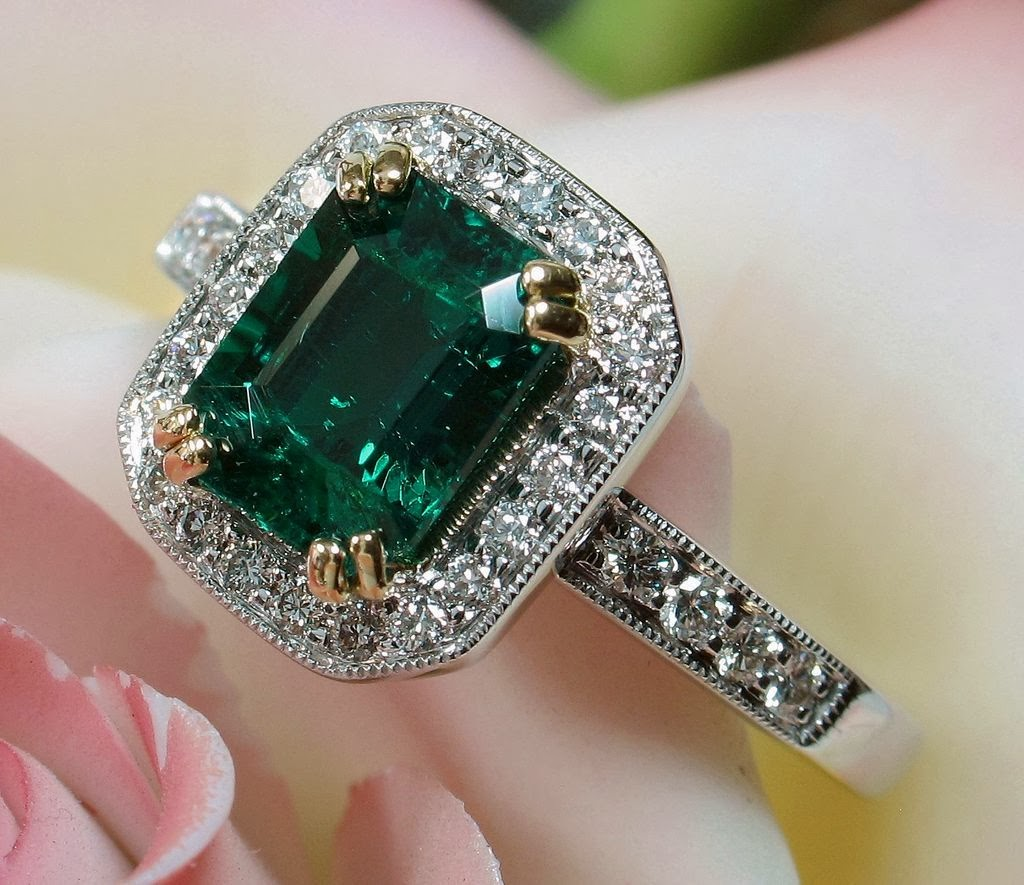 emerald fashion rings jewellery collection 44