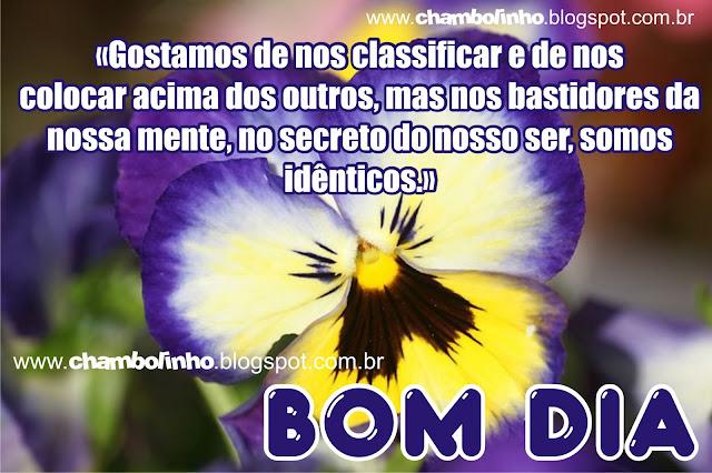 Recadinho de Bom Dia com Frase de Augusto Cury pra Facebook