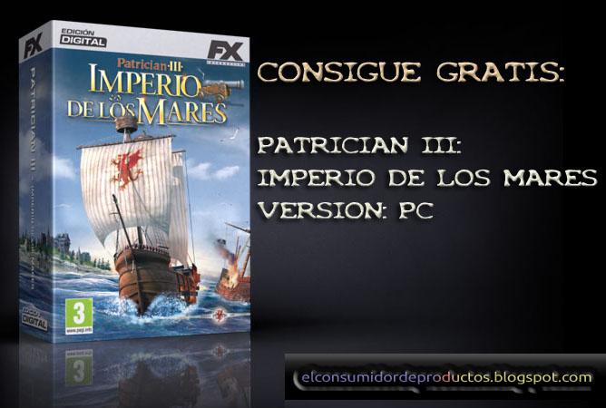 Patrician iii imperio de los mares para pc gratis for Pc in regalo gratis