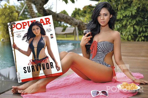 "Jelly Syakilla, In My Room POPULAR No. 331 Agustus 2015 ""Swimsuit Survivor"" 