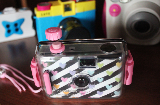 reusable underwater lomo camera
