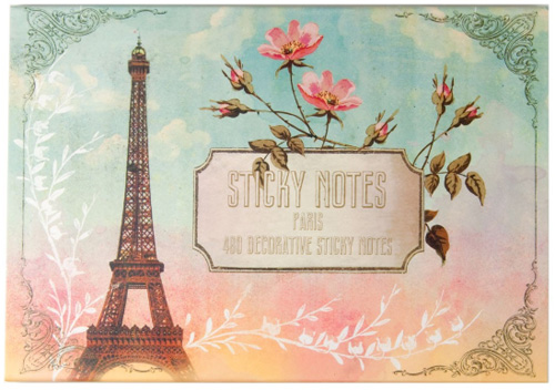 PAPAYA : Paris Sticky Notes