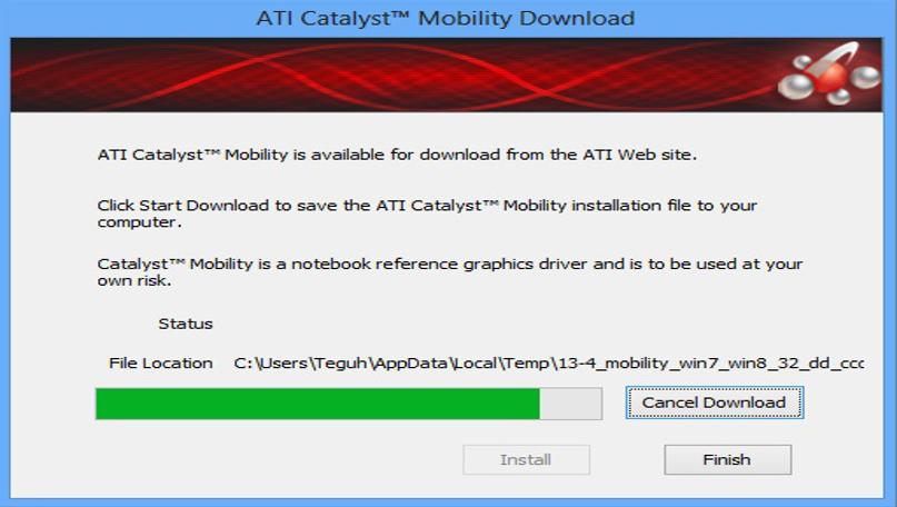 cara mudah install driver VGA laptop AMD