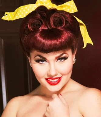 Maquillaje pin up - Maquillage pin up ...