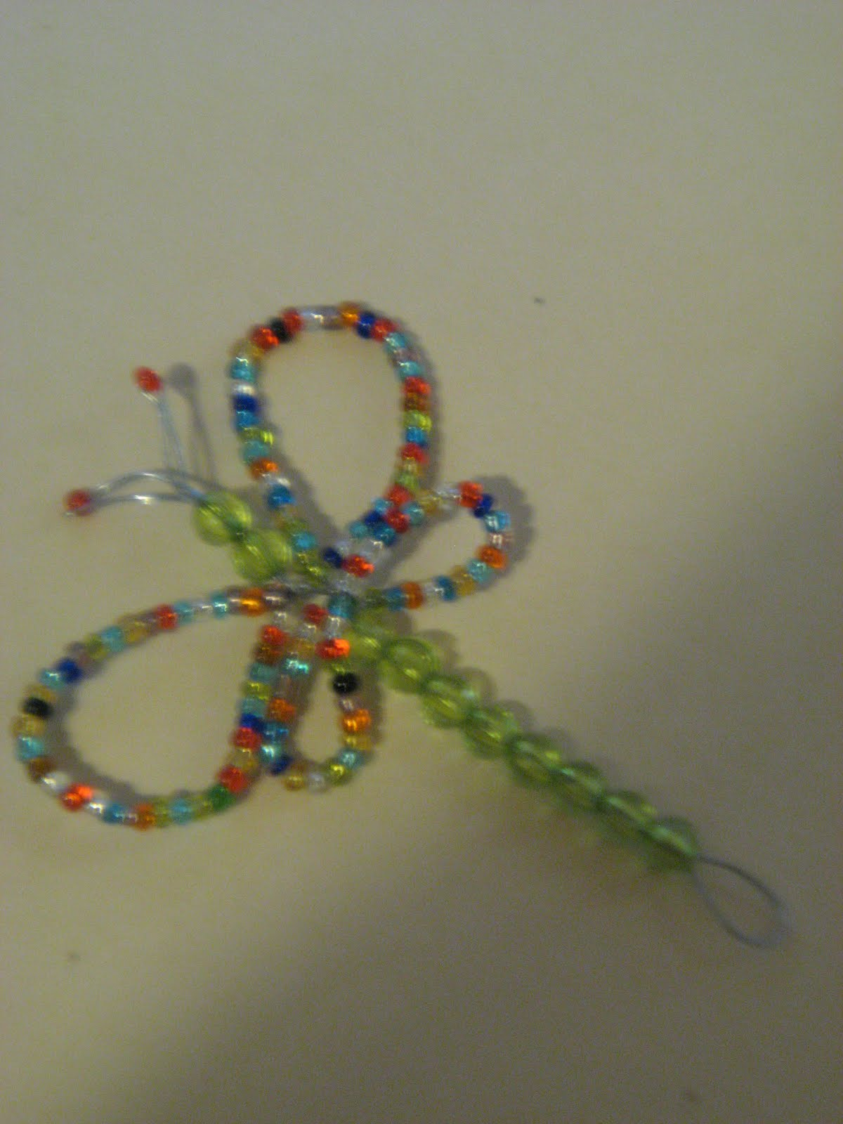 kaels craft bead wire dragonfly