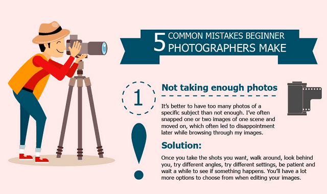 5 Common Mistakes Photographers Make