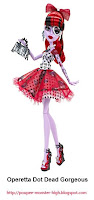 Poupée Monster High Operetta Dot Dead Gorgeous