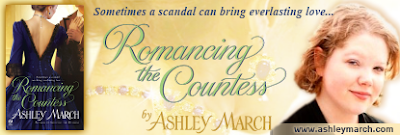 Book cover of Romancing the Countess by Ashley March Elise Rome
