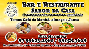 Bar e Restaurante Sabor da Casa BR-424 próximo  a King Lanternagem