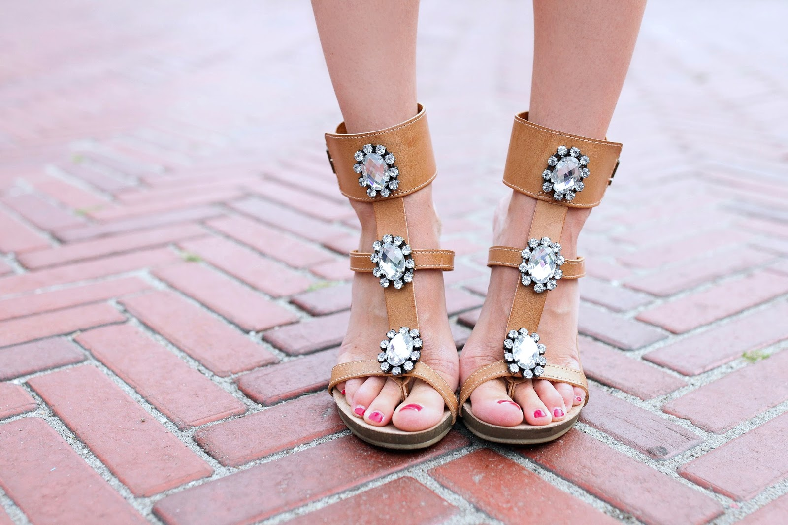 Love these gem wedges