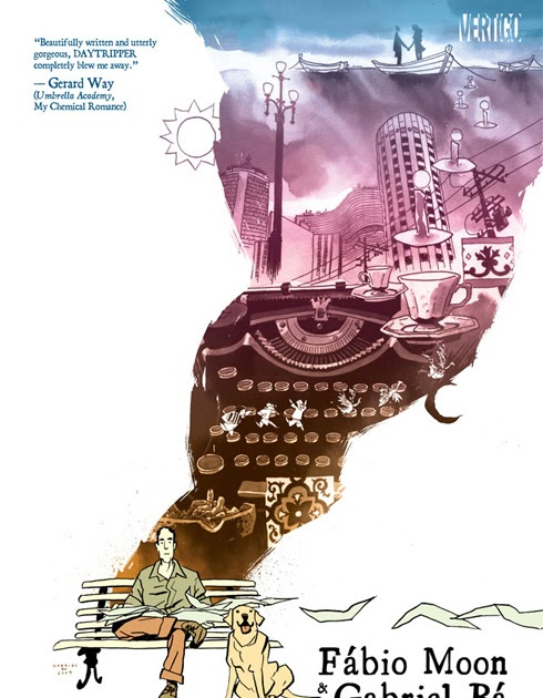 Backlisted.: Review: Daytripper, by Fábio Moon and Gabriel Bá