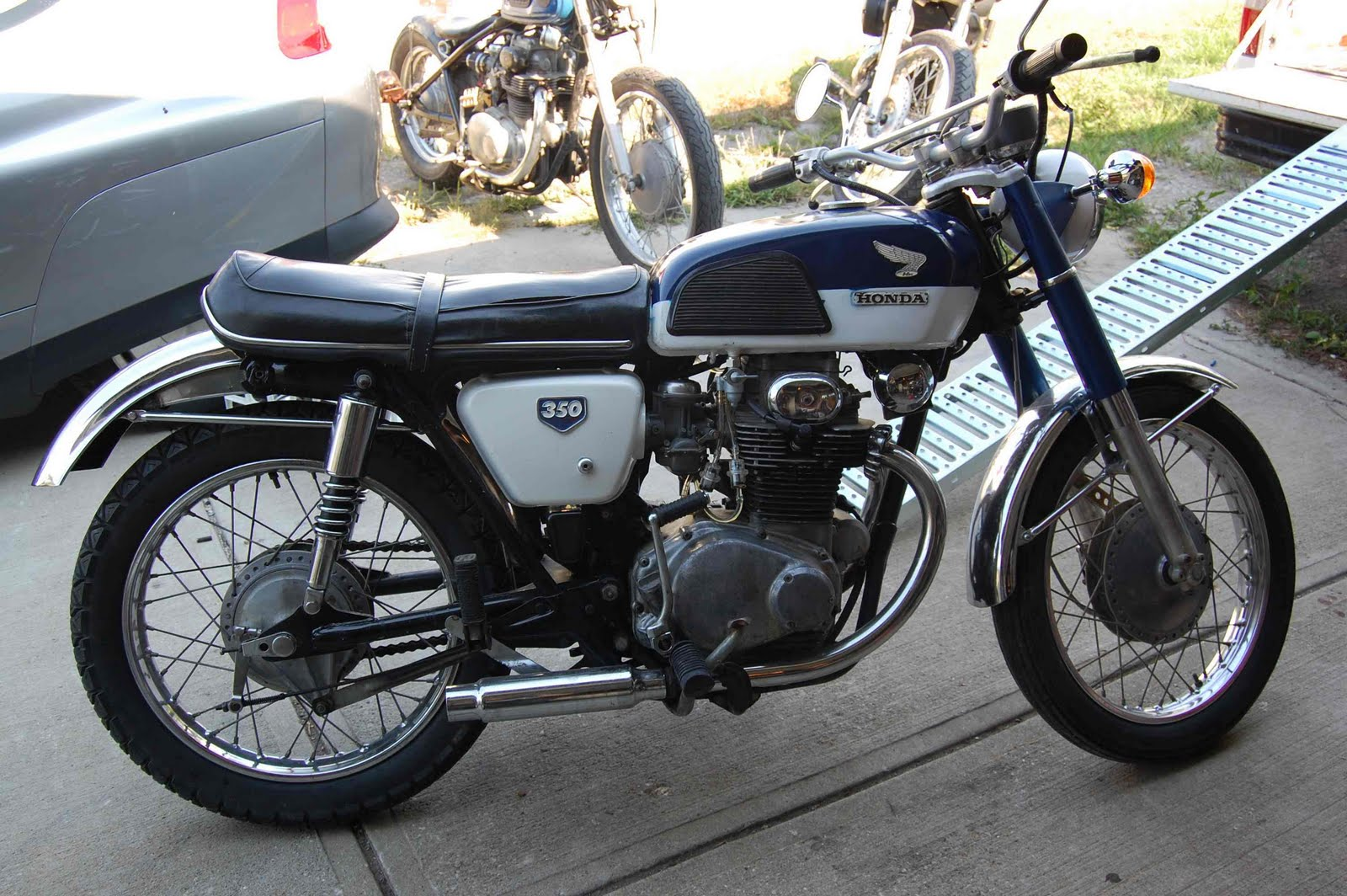 R4l New To The Family 1968 Cb350 K0 Honda Cb Wiring Diagram Welcome