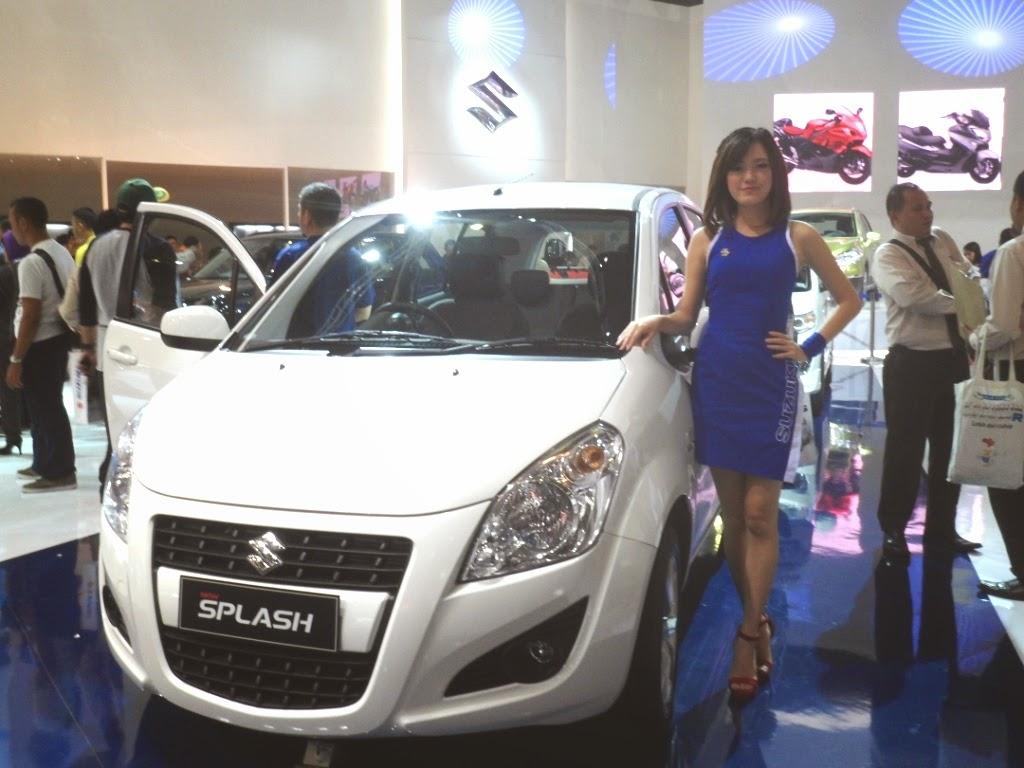 SPG Suzuki Splash IIMS 2014