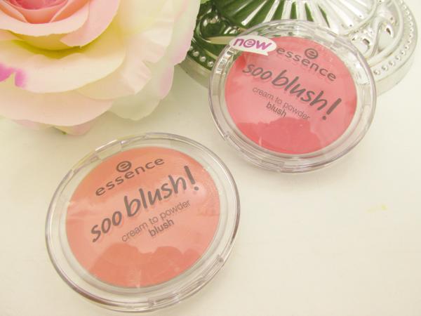 essence Soo Blush! cream to powder blushes 10 sweet as a peach und 20 everything is better in pink Neuheiten Herbst 2014