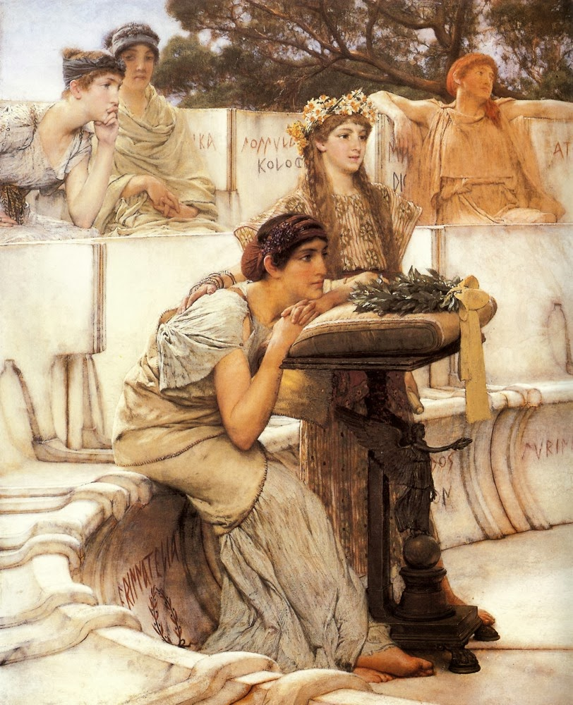 Saffo - Sir Alma Tadema